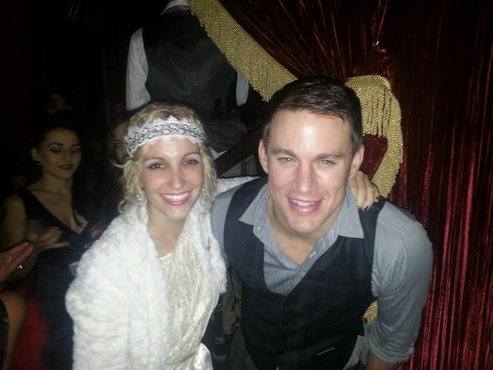 Channing Tatum Ally Burguieres Saints and Sinners New Orleans